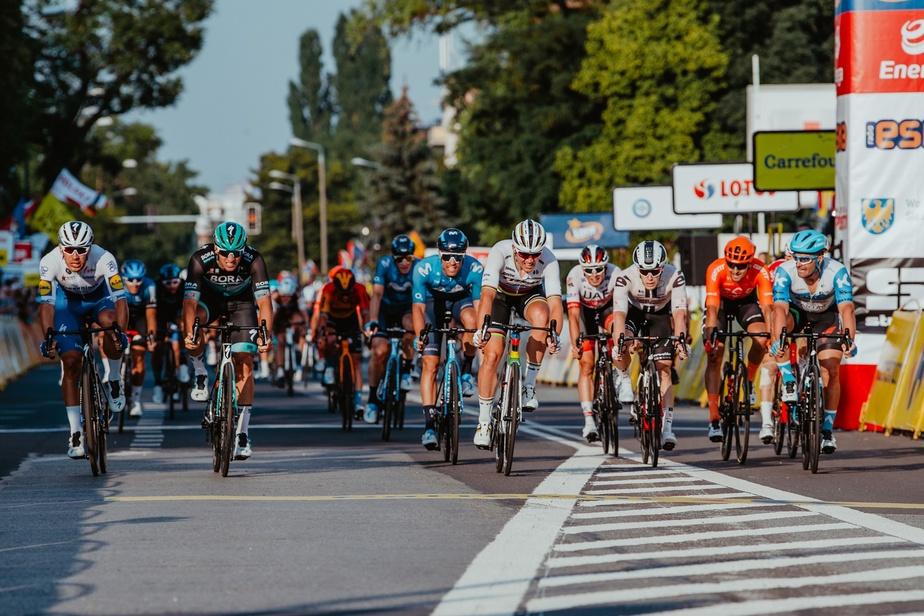 Mads Pedersen au sprint pour la 2ème étape — Tour de Pologne