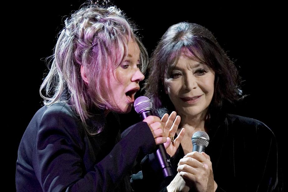En duo avec Diane Dufresne, en août2008