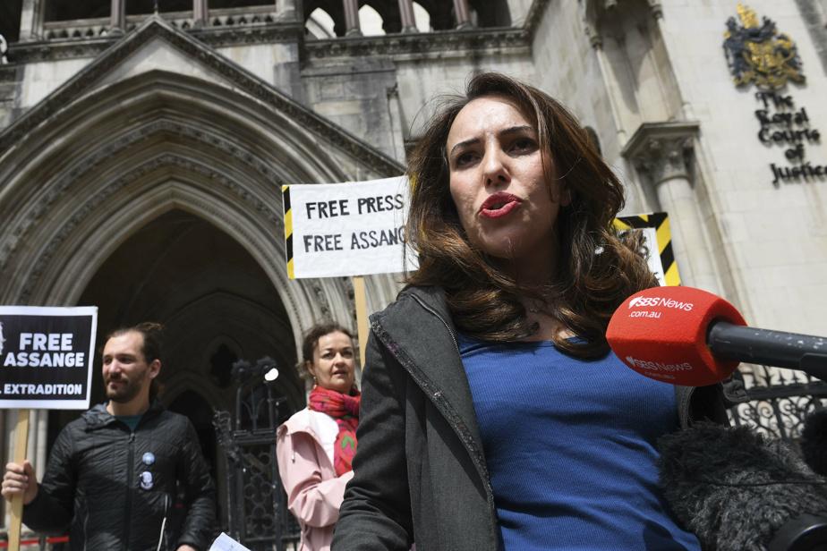 La compagne de Julian Assange demande l'abandon des poursuites par Washington