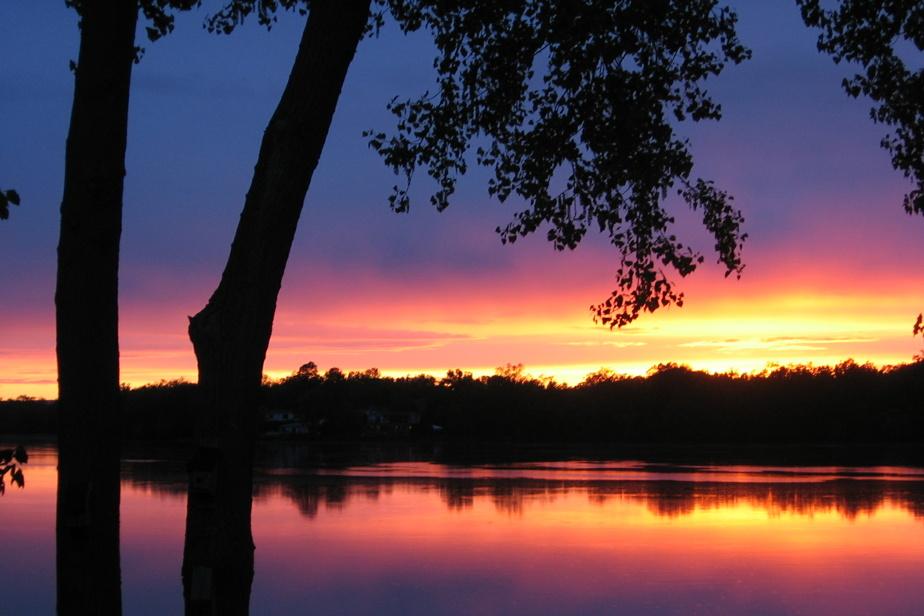 À Pierrefonds, la rivière des Prairies n'est pas en reste. Cette lectrice l'admire quotidiennement depuis son balcon, «émerveillée par sa beauté, par ce que la nature nous offre gratuitement».