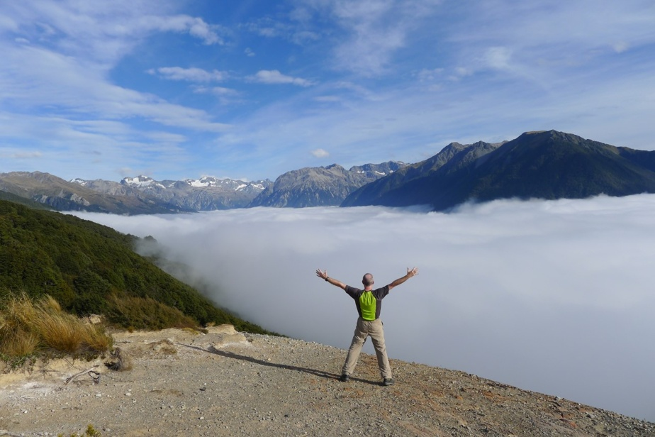 Voici la photo envoyée par Jacques Nadeau, qui a visité la Nouvelle-Zélande en mars2014. «Un voyage de trekking de trois semaines qui m'a amené à parcourir les îles du Nord et du Sud et à effectuer une ou deux randonnées par jour dans des sites montagneux variés et enchanteurs. Cette photo a été prise sur l'île du Sud», écrit-il.
