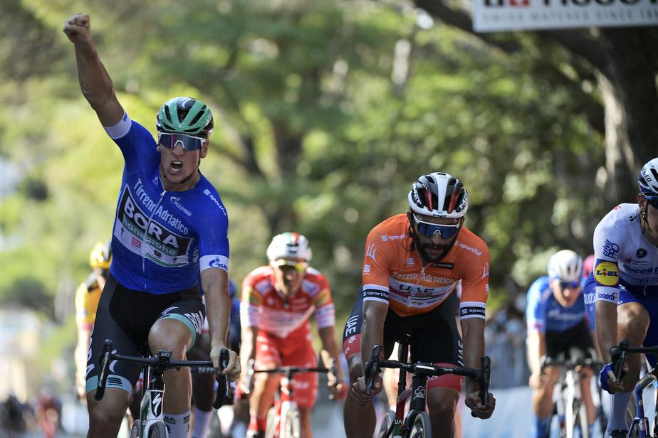 Pascal Ackermann a remporté sa 2e victoire de suite — Tirreno-Adriatico
