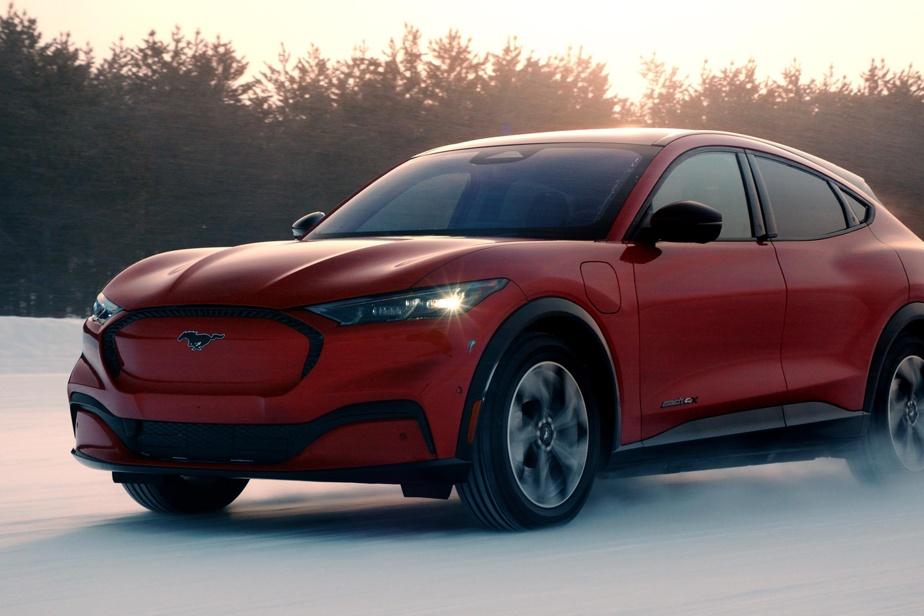 Bien que son allure et son patronyme l'évoquent implicitement, la Mustang Mach-E n'est pas une voiture sport.