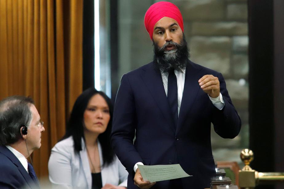 Singh responsable d'une «grave» crise sociale, selon Blanchet)
