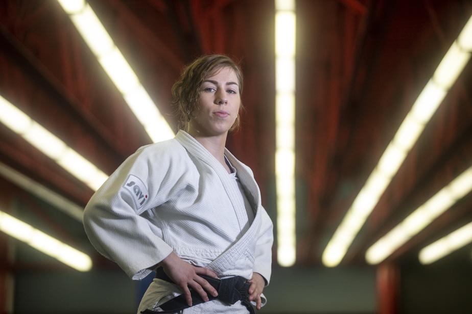 CATHERINE BEAUCHEMIN-PINARD ET ANTOINE VALOIS-FORTIER  Judo 22h — Deux Québécois à suivre ce soir en judo, alors que Catherine Beauchemin-Pinard (notre photo) est à l'œuvre dans la catégorie des 63kg (F) et Antoine Valois-Fortier, dans celle des 81kg (H).