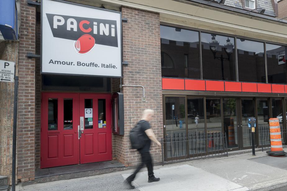 Les restos Pacini en restructuration financière