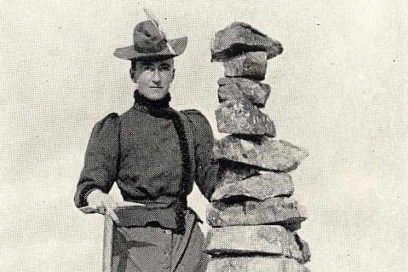 Lizzie Le Blond, alpiniste et cinéaste du XIXe siècle