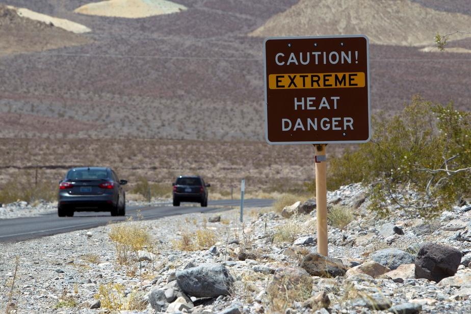 USA : une température inédite relevée dans la vallée de la mort