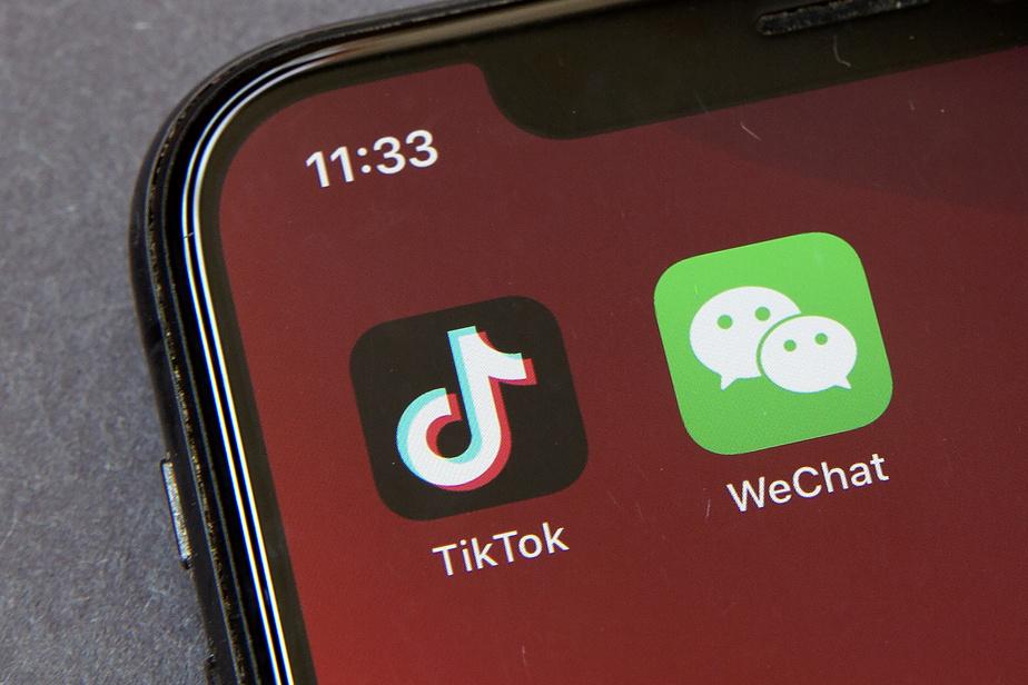 TikTok et WeChat, une menace relative pour la sécurité des États-Unis, selon les experts)