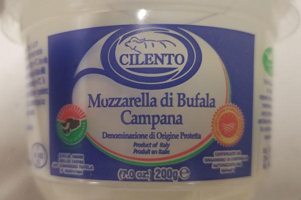 Rappel du fromage Mozzarella Cilento