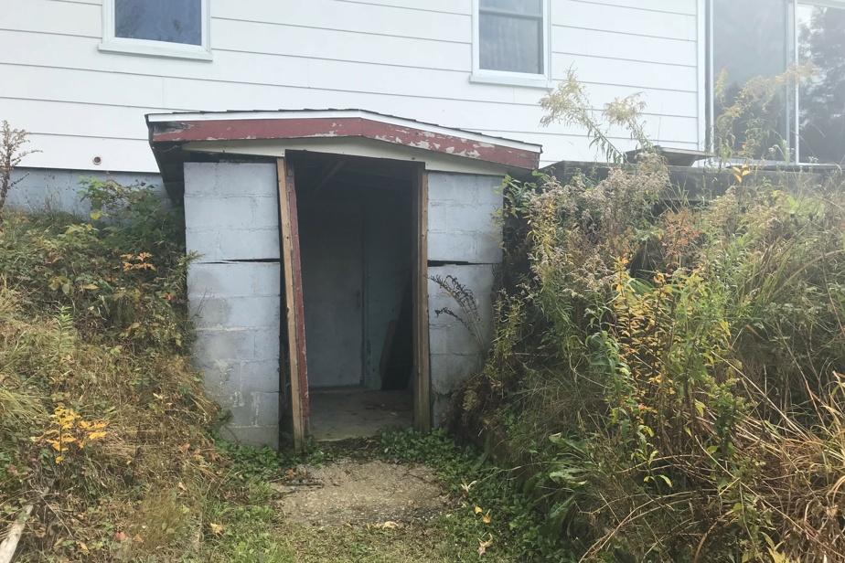 Le bungalow avant les rénovations