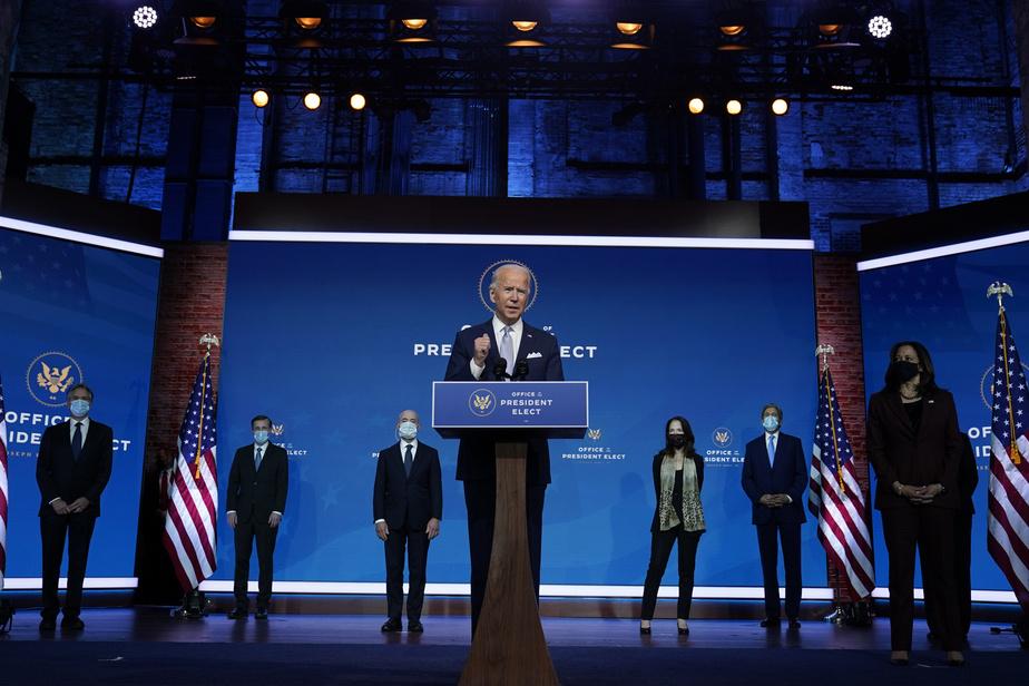 Joe Biden assure que les États-Unis sont «prêts à guider le monde»)