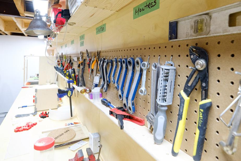 … tout comme les outils.