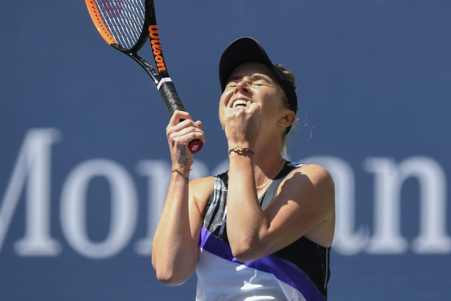 Serena Williams en demi-finale contre Elina Svitolina — US Open