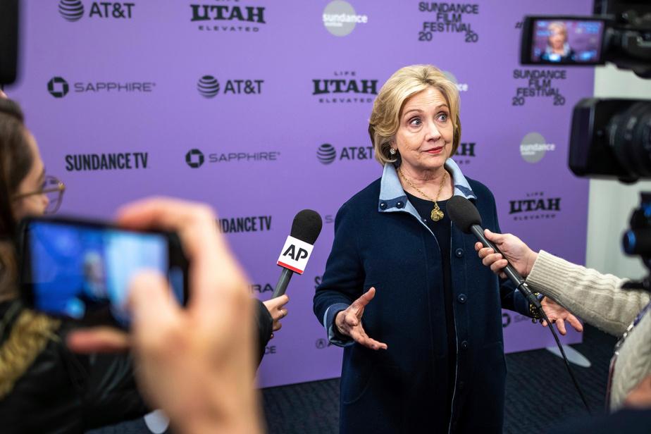 Clinton: les É.-U. «ne peuvent se permettre 4ans de plus» avec Trump