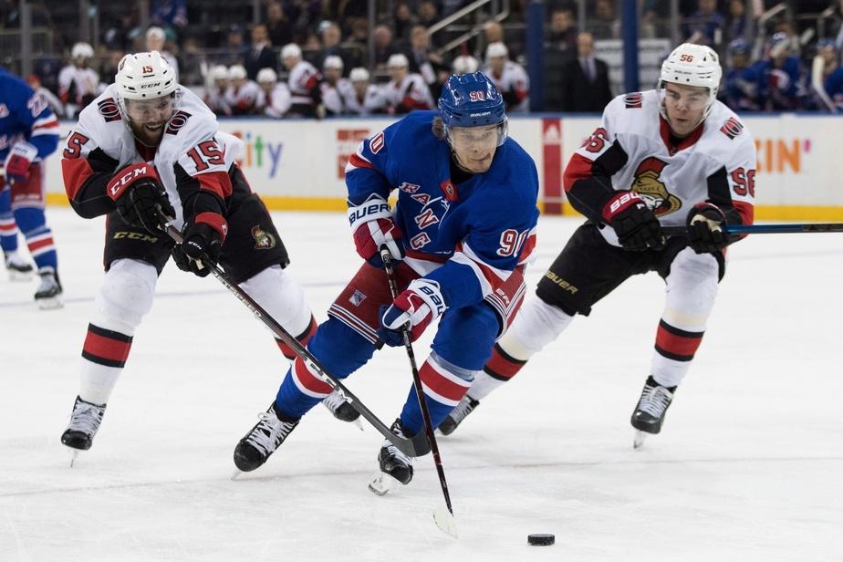 LNH : les Sénateurs mettent la main sur Vladislav Namestnikov des Rangers