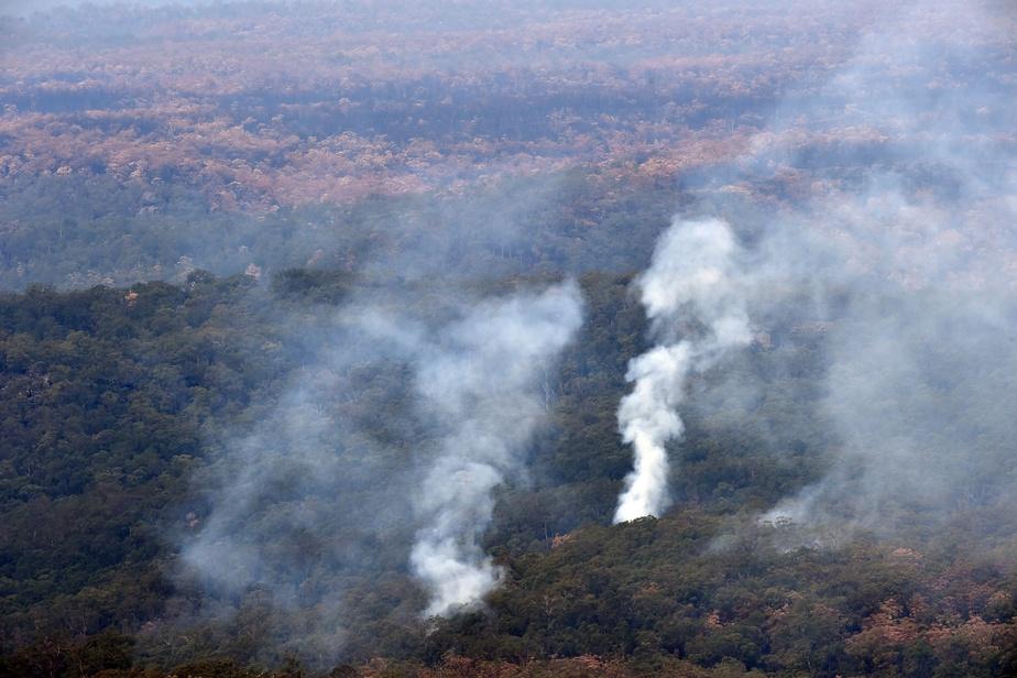 La pluie vient enfin soulager les pompiers — Incendies en Australie