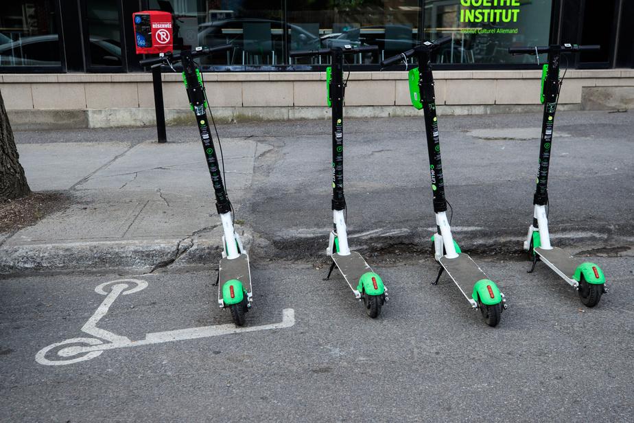 La ville de Montréal met fin aux trottinettes électriques