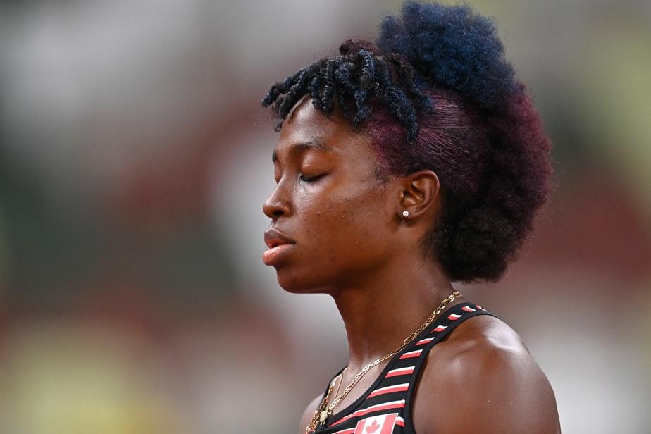 Crystal Emmanuel Athlétisme 6h25 – On suit le parcours de la Canadienne Crystal Emmanuel au 200m. La demi-finale est disputée au petit matin.