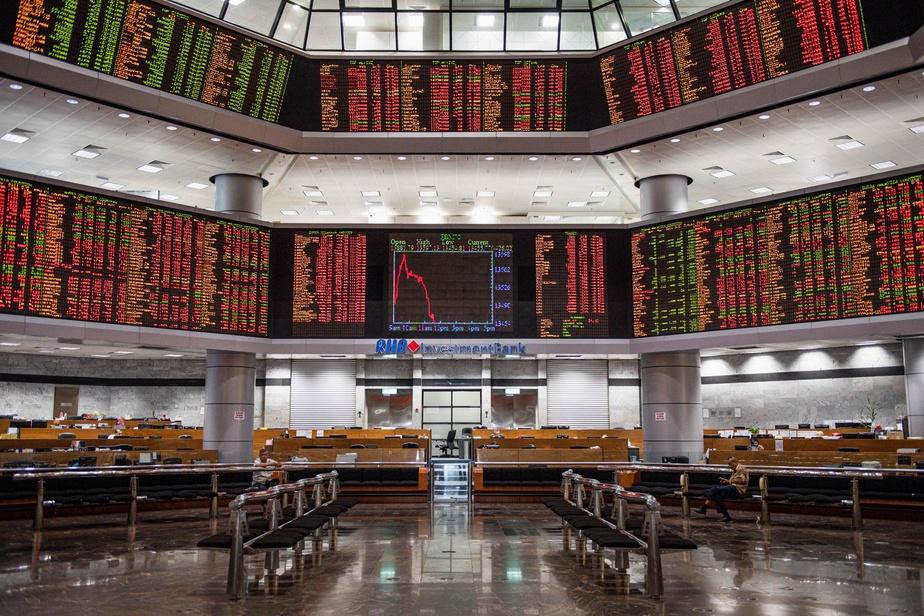 La Bourse de Paris termine en très forte baisse de 3,94% — Coronavirus
