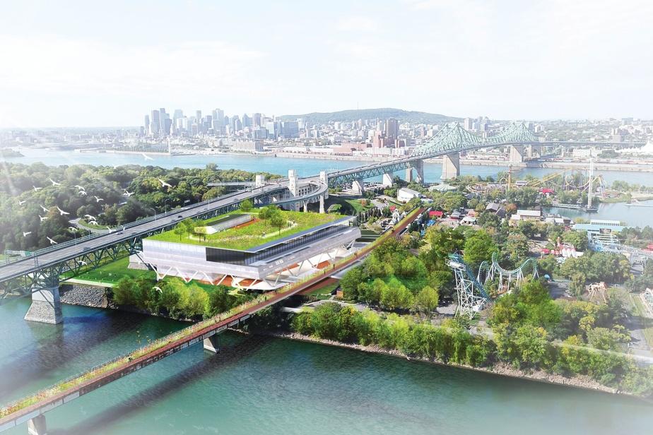 L'offre de stationnement sera concentrée dans le secteur du Casino de Montréal, près de La Ronde et dans un nouvel édifice multifonctions (image) à construire.
