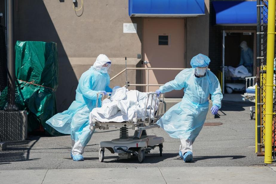 1150 morts supplémentaires en 24 heures aux Etats-Unis