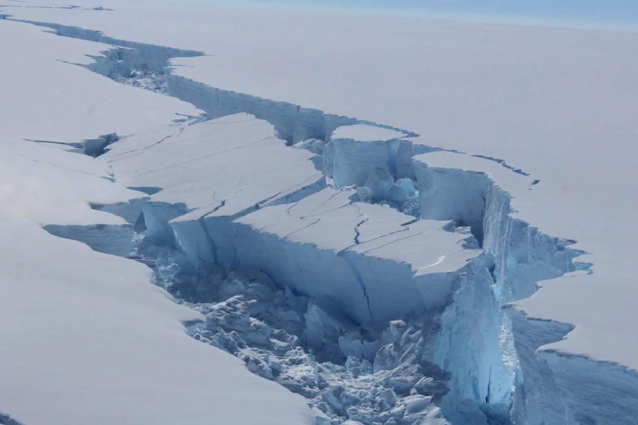 Il a fait 18degrés en Antarctique aujourd'hui; un triste record