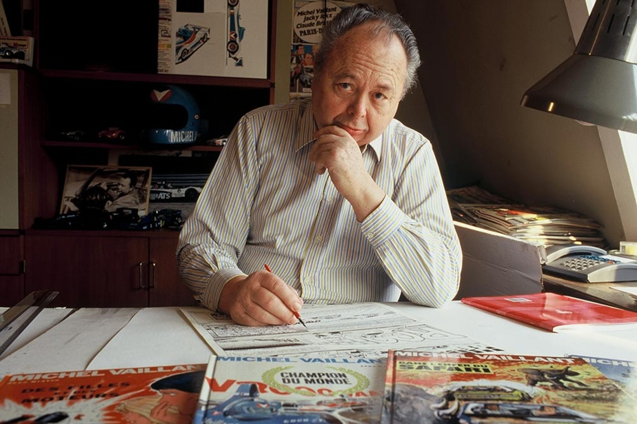 Décès de Jean Graton, dessinateur de la BD Michel Vaillant