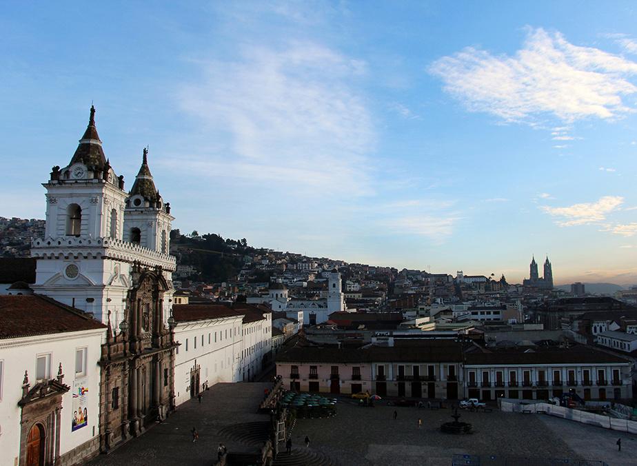 L'Iglesia San Francisco, qui jouxte un monastère, est la plus ancienne église du pays.