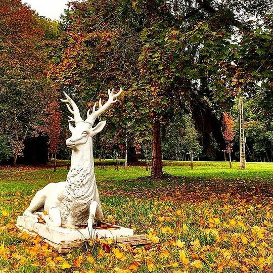 Des sculptures seront disséminées un peu partout sur le terrain.