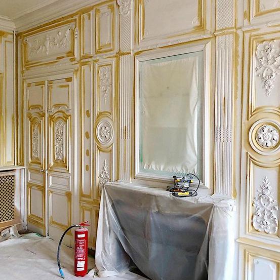 «Je ne ferai pas du château un musée. Je veux qu'il soit agréable à vivre, car je vais l'habiter», confie le designer.