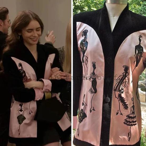 Le compte italien Emily in Paris Outfit trouve les marques derrière les vêtements de la série.