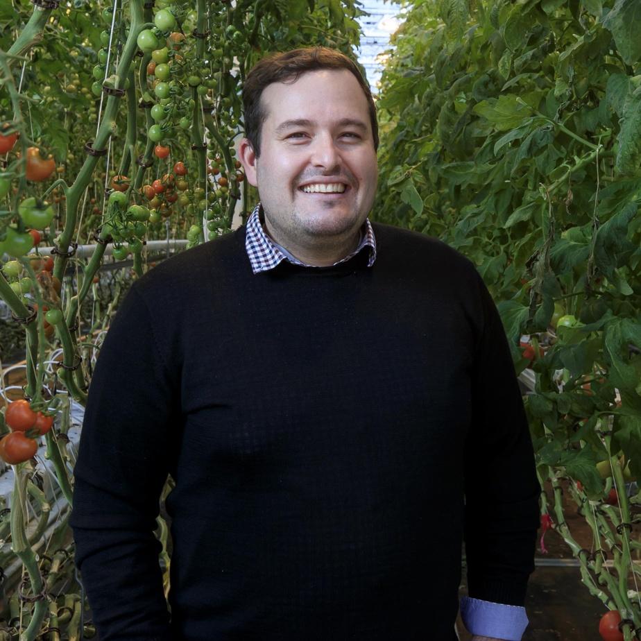 Jean-Michel Vanier, vice-président finances pour Les Fermes Lufa, était finaliste dans la catégorie «dirigeante financière ou dirigeant financier d'une petite ou moyenne entreprise».