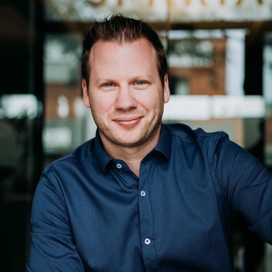 Luc Gagnon, vice-président finance chez Spiria digital, était finaliste dans la catégorie «dirigeante financière ou dirigeant financier d'une petite ou moyenne entreprise».