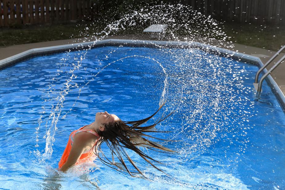 Les piscines étaient particulièrement prisées lors de la récente canicule.