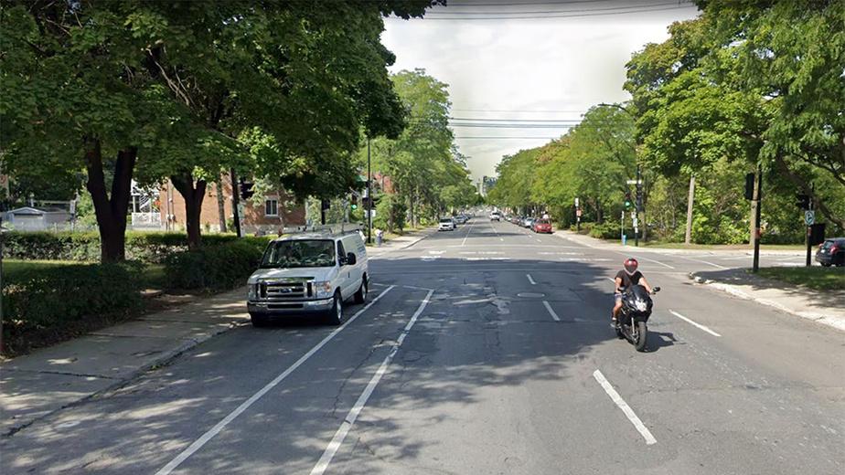 Avant Intersection des rues Berri et Prieur