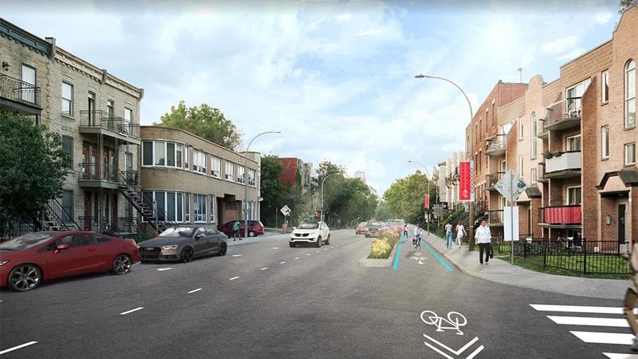 Après Intersection des rues Saint-Antoine et Brewster