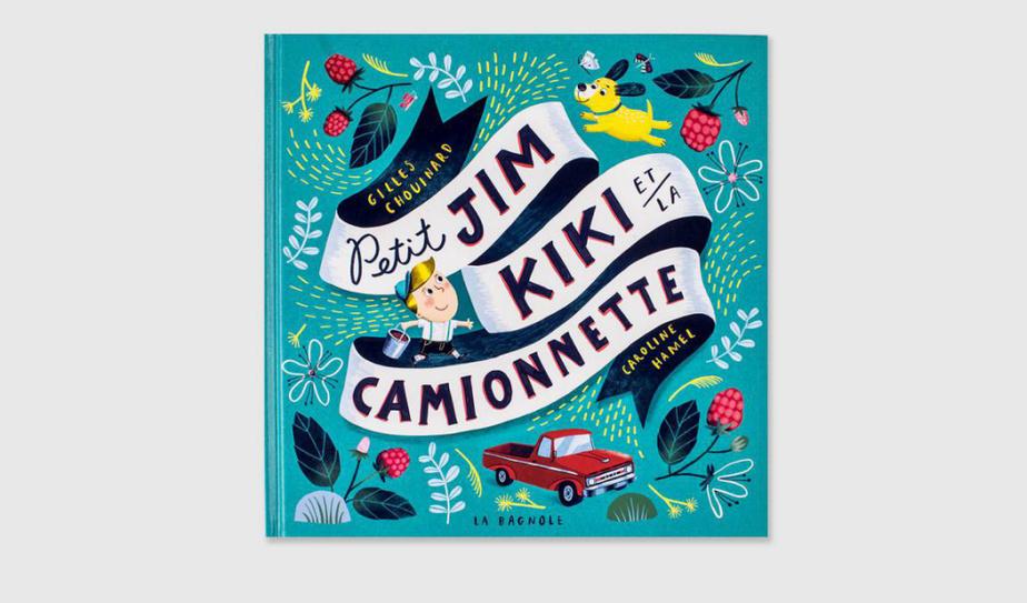 SI VOUS AIMEZ… LES ÉMOTIONS Petit Jim vit à la campagne. Pour ses 6ans, il reçoit un petit chien, Kiki. PetitJim et Kiki sont inséparables. Ils jouent ensemble, dorment ensemble, vont cueillir des framboises ensemble. Quand Kiki meurt écrasé par une voiture, la peine de PetitJim–et du lecteur–est vive. Tout en douceur, cet album aborde l'amour, le deuil et les rituels apaisants à hauteur d'enfant. Petit Jim, Kiki et la camionnette, texte de Gilles Chouinard, illustrations Caroline Hamel, Les éditions de la Bagnole. Dès 4ans.