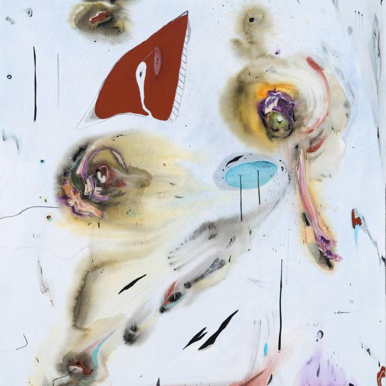 The death of Kandinsky 2, 2019, Manuel Mathieu, 72po x 68po