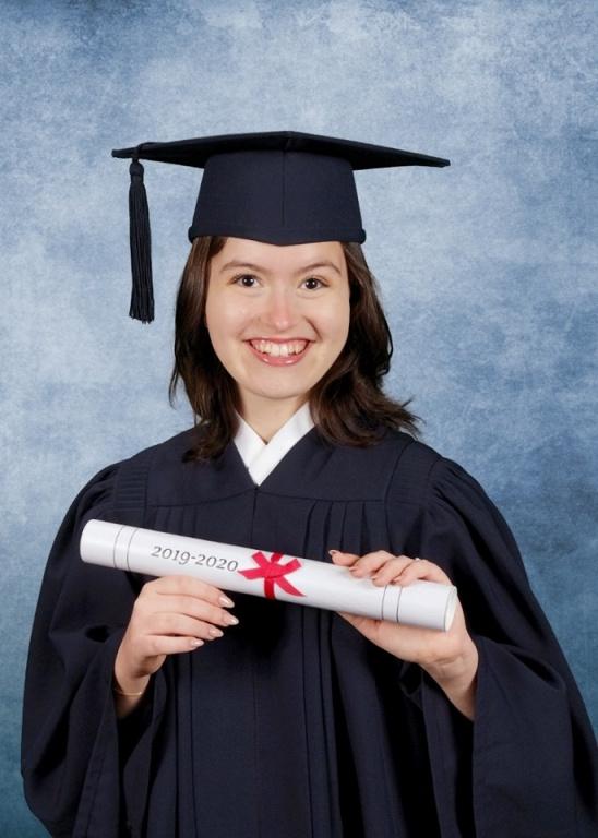 Annie-Claude Labrie, finissante de 5esecondaire au Collèged'Anjou