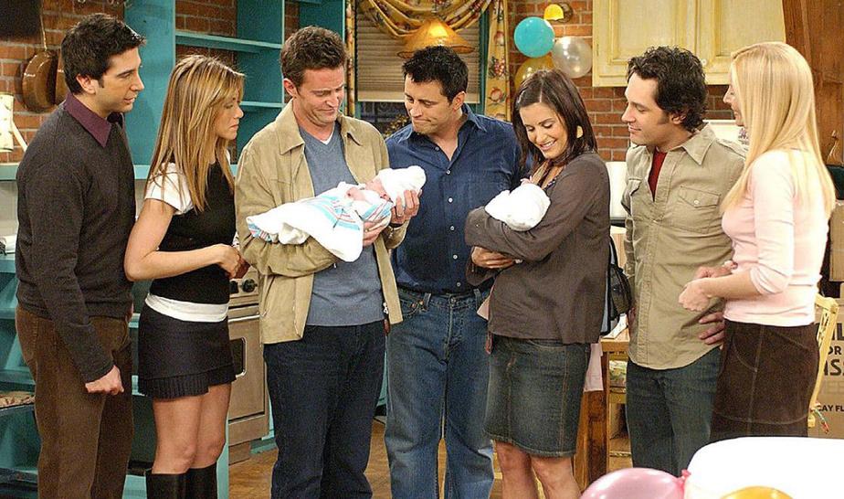 FRIENDS (Netflix) 3 jours, 13heures et 48minutes La célèbre série diffusée à NBC, réunissant Rachel,Ross, Monica et compagnie, se sera étendue sur 10saisons.