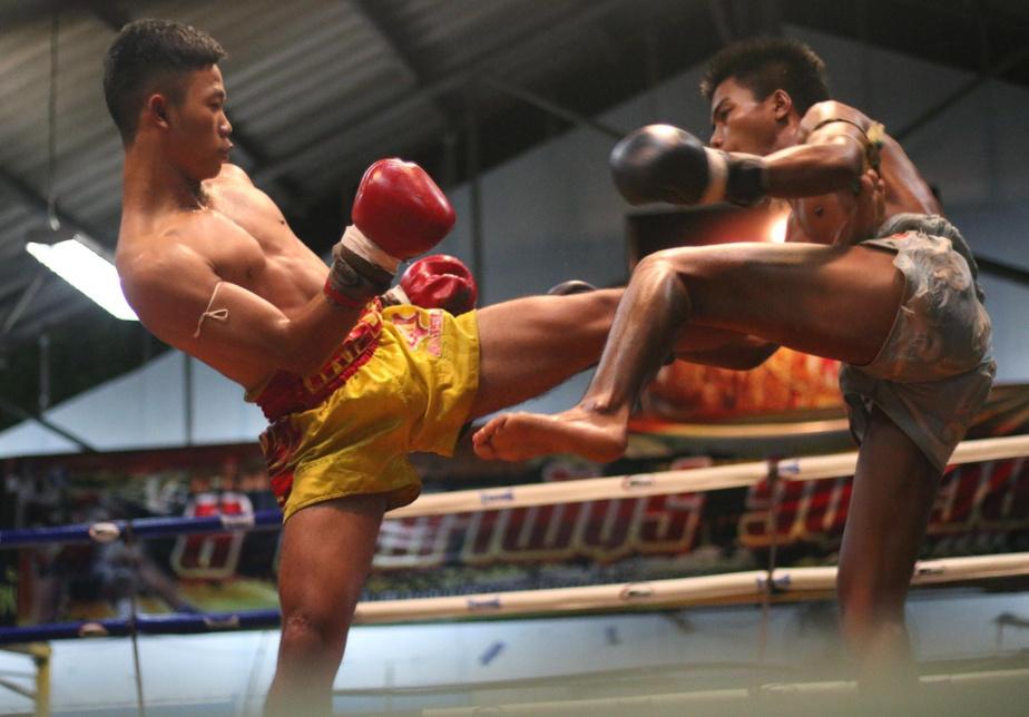 Le muay thaï est aussi appelé l'art des «huit membres», puisqu'il est permis de frapper avec les pieds, les poings, les genoux et les coudes. Certains coups peuvent être destructeurs, malgré la présence d'un arbitre.