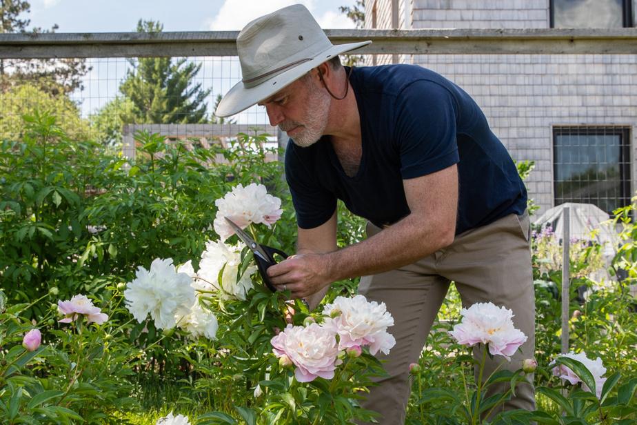 Maxime Vandal n'aurait pas cultivé du céleri. Les fleurs, par contre, lui parlent et le rendent heureux. «On développe des idées propres à nos intérêts et nos compétences», dit-il.