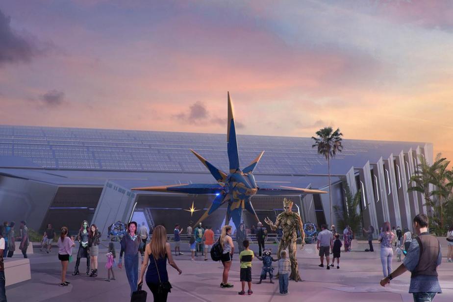 Les Gardiens de la galaxie s'invitent à Epcot dans une attraction qui promet d'être la plus longue montagne russe intérieure au monde.