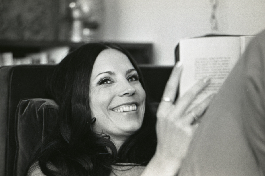 Renée Claude le 8 juillet 1969