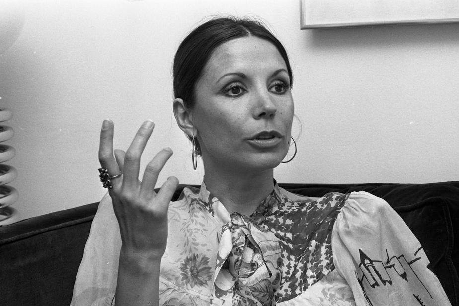 Renée Claude en 1976