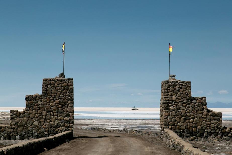 L'entrée du désert d'Uyuni