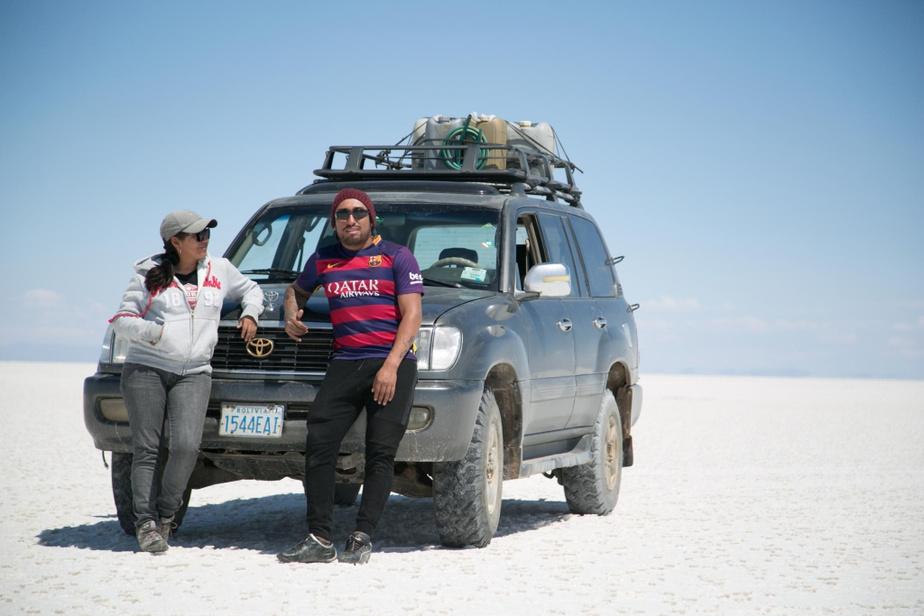 Les guides Maribel et Diego