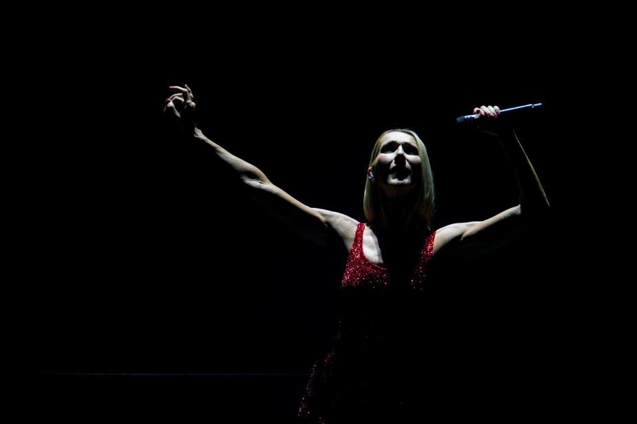 Céline Dion au Centre Bell le 18février dans le cadre de satournéeCourage