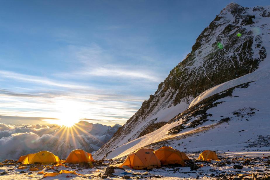 Image tirée du film Everest, de Jonathan Griffith